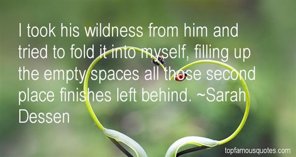 Quotes About Empty Spaces