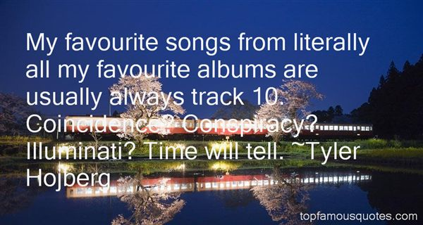 Quotes About Favourite Songs