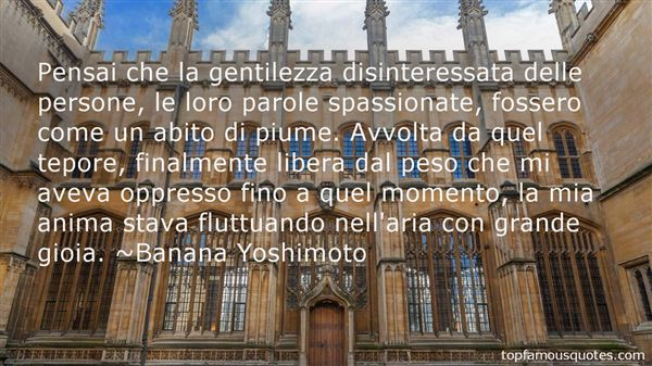 Quotes About Gentilezza