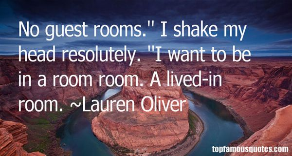 Quotes About Guest Rooms