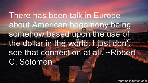 Quotes About Hegemony