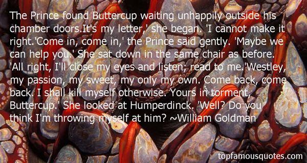 Quotes About Humperdinck