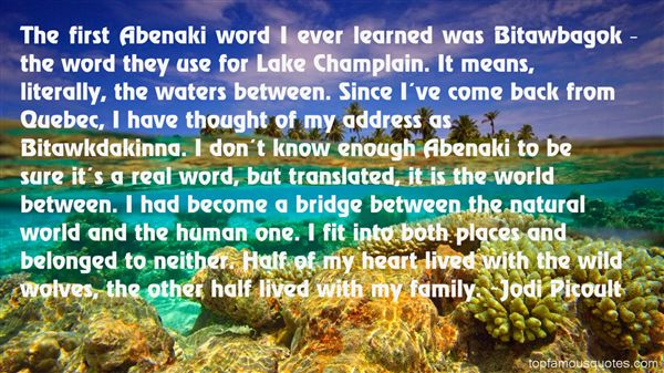 Quotes About Lake Champlain