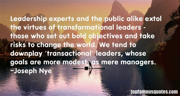 Quotes About Leadership And Change