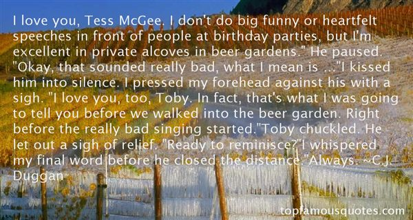 Quotes About Mcgee