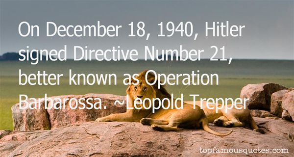 Quotes About Operation Barbarossa