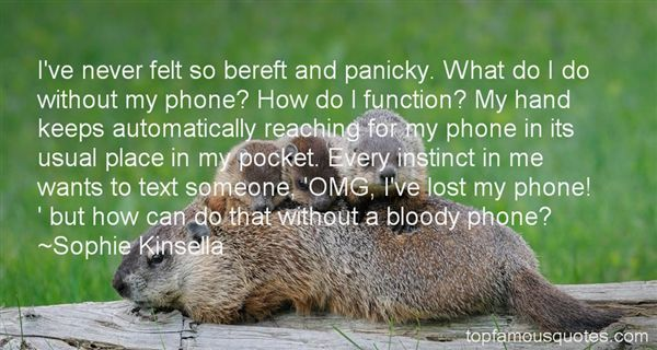 Quotes About Panicky