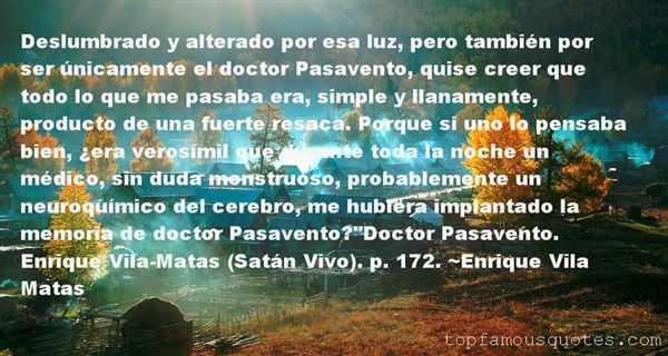 Quotes About Pasavento