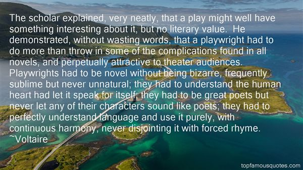 Quotes About Playwrights