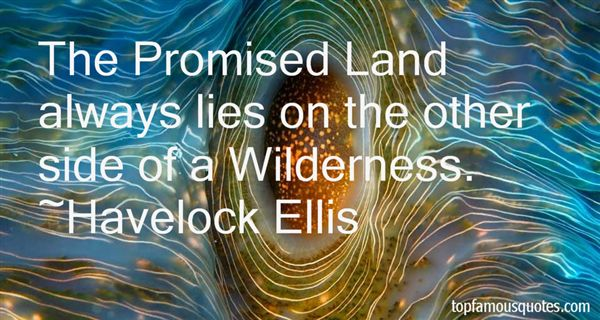 Quotes About Promised Land