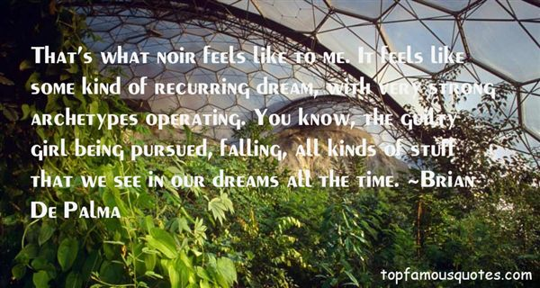 Quotes About Recurring Dreams