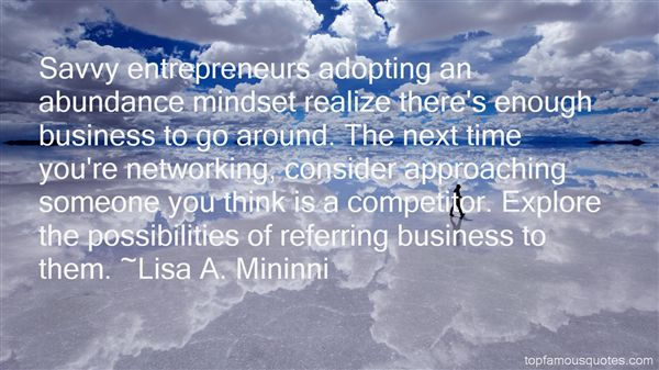 Quotes About Referring Business