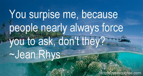 Quotes About Surpise