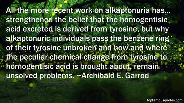 Quotes About Tyrosine