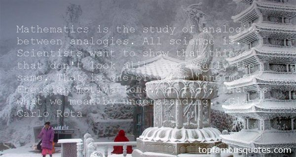 Quotes About Analogies