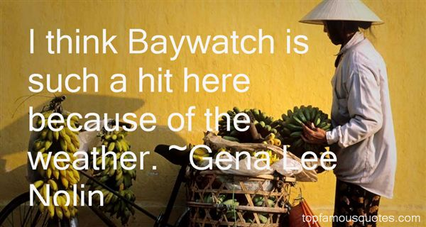 Quotes About Baywatch