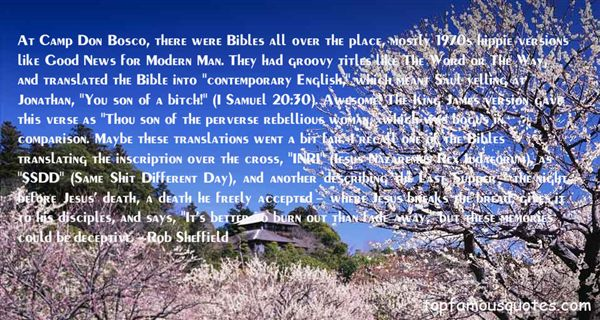Quotes About Bibles Death