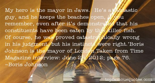 Quotes About Boris Johnson