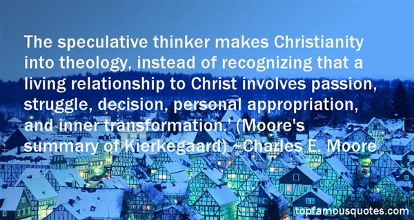 Quotes About Christian Theology