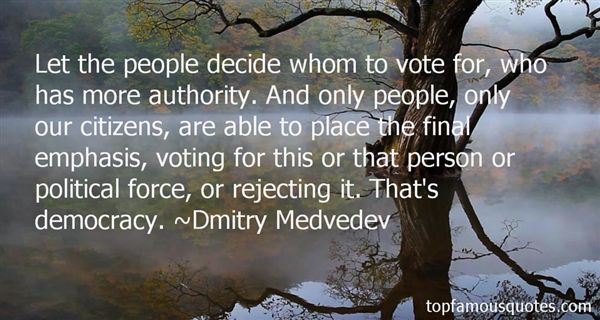 Quotes About Citizens Voting