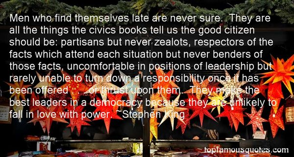 Quotes About Civic Leadership