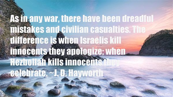 Quotes About Civilian Casualties