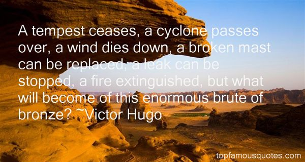 Quotes About Cyclone