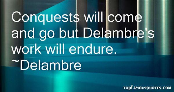Quotes About Delambre