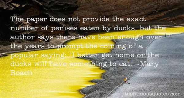 Quotes About Ducks