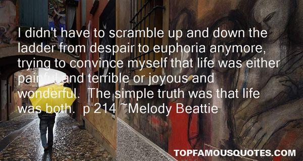 Quotes About Euphoria