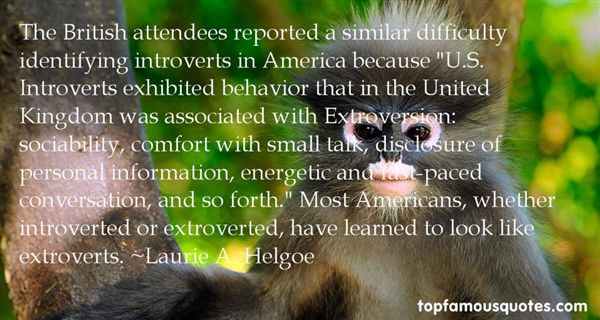 Quotes About Extroverts