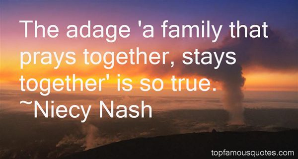 Quotes About Family That Stays Together