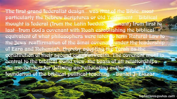 Quotes About Federalist Constitution