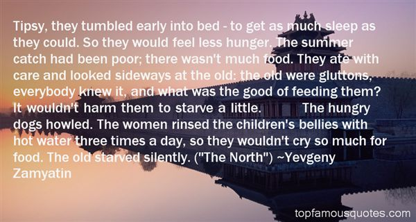 Quotes About Feeding Hungry
