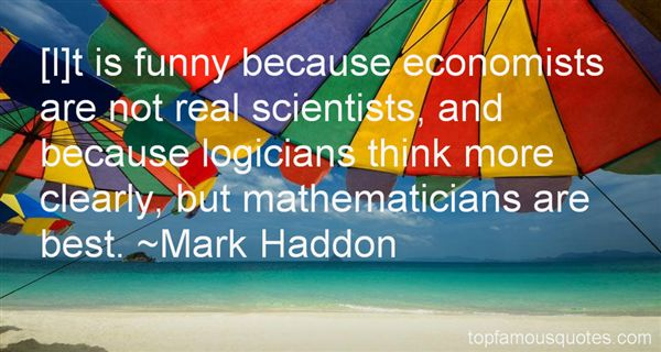 Quotes About Funny Mathematicians
