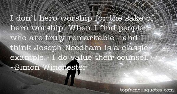 Quotes About Hero Worship