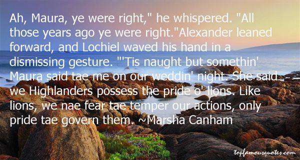 Quotes About Highlanders