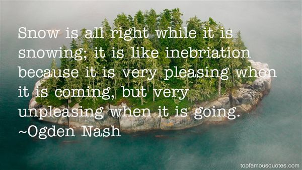 Quotes About Inebriation