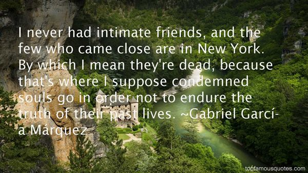 Quotes About Intimate Friends