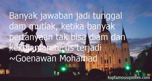 Quotes About Kekejaman