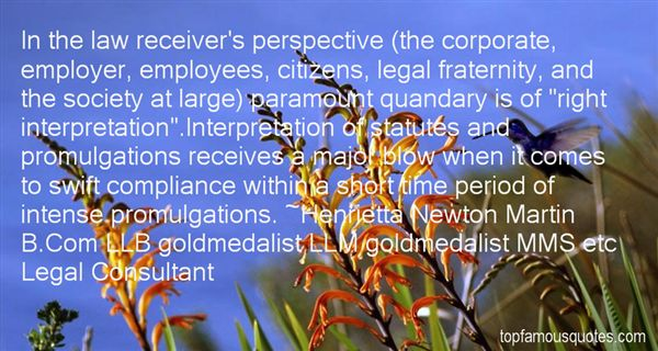 Quotes About Legal Compliance