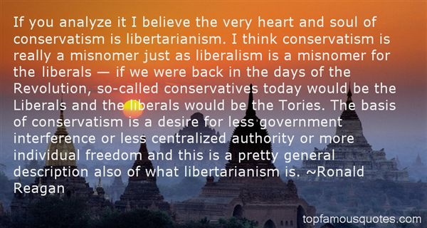 Quotes About Liberalism And Conservatism