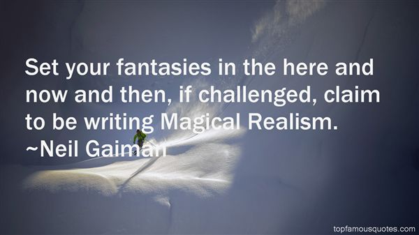 Quotes About Magical Realism