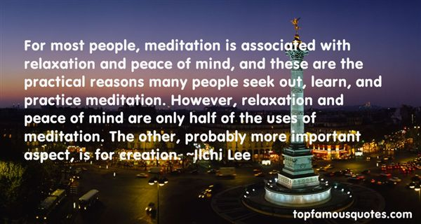 Quotes About Meditation And Peace