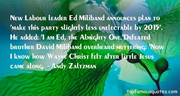 Quotes About Miliband