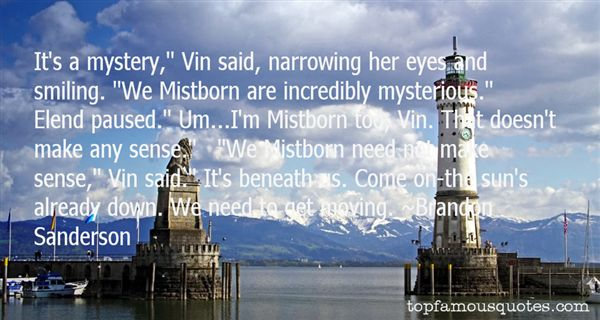 Quotes About Mistborn