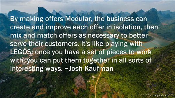 Quotes About Modular
