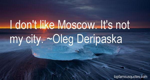Quotes About Moscow City