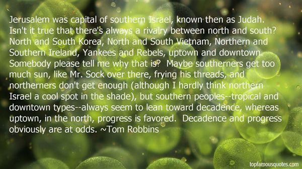 Quotes About Northerners