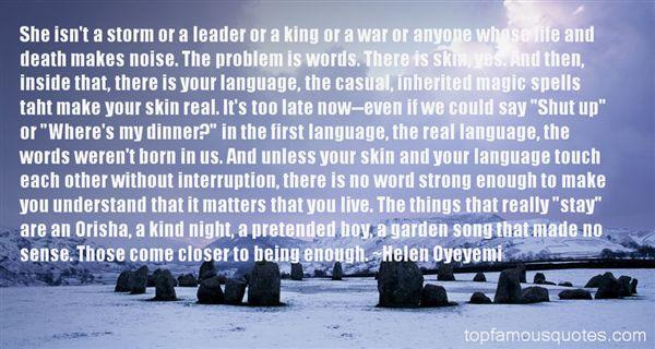 Quotes About Orisha